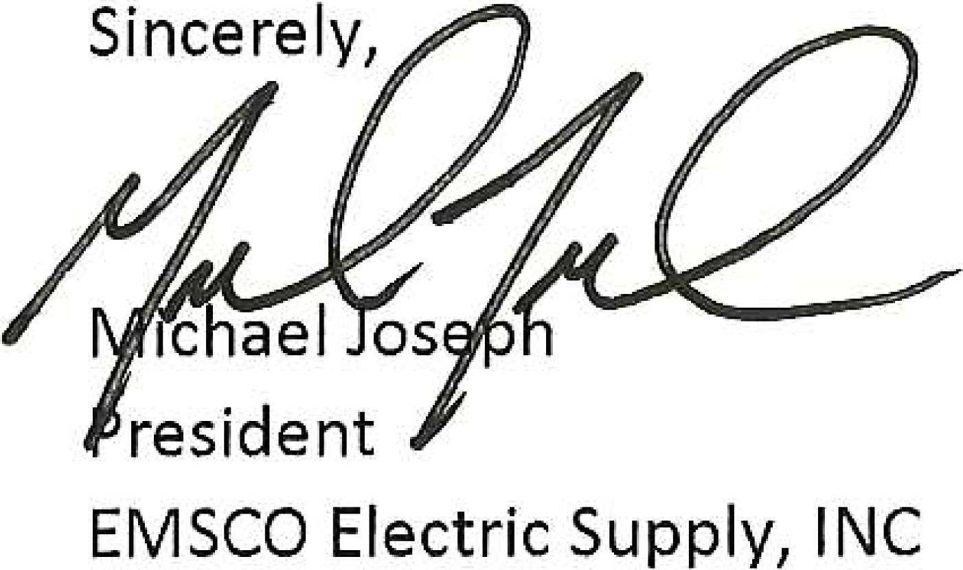 Michael Joseph Signature